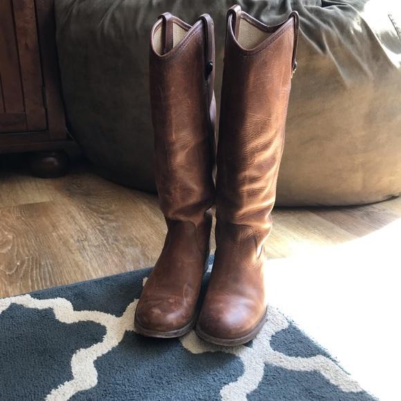 Frye Melissa Button Wide Calf Boots
